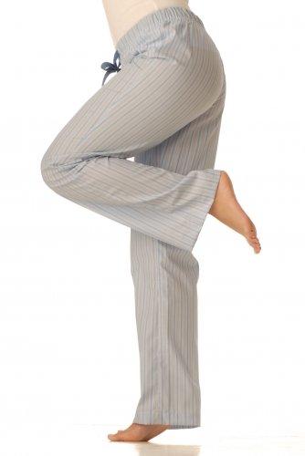 Pyžamové kalhoty - Modré proužky